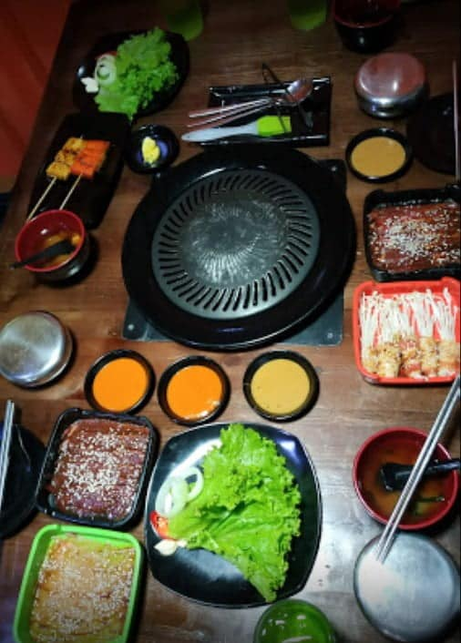 Korean Noona BBQ Grill