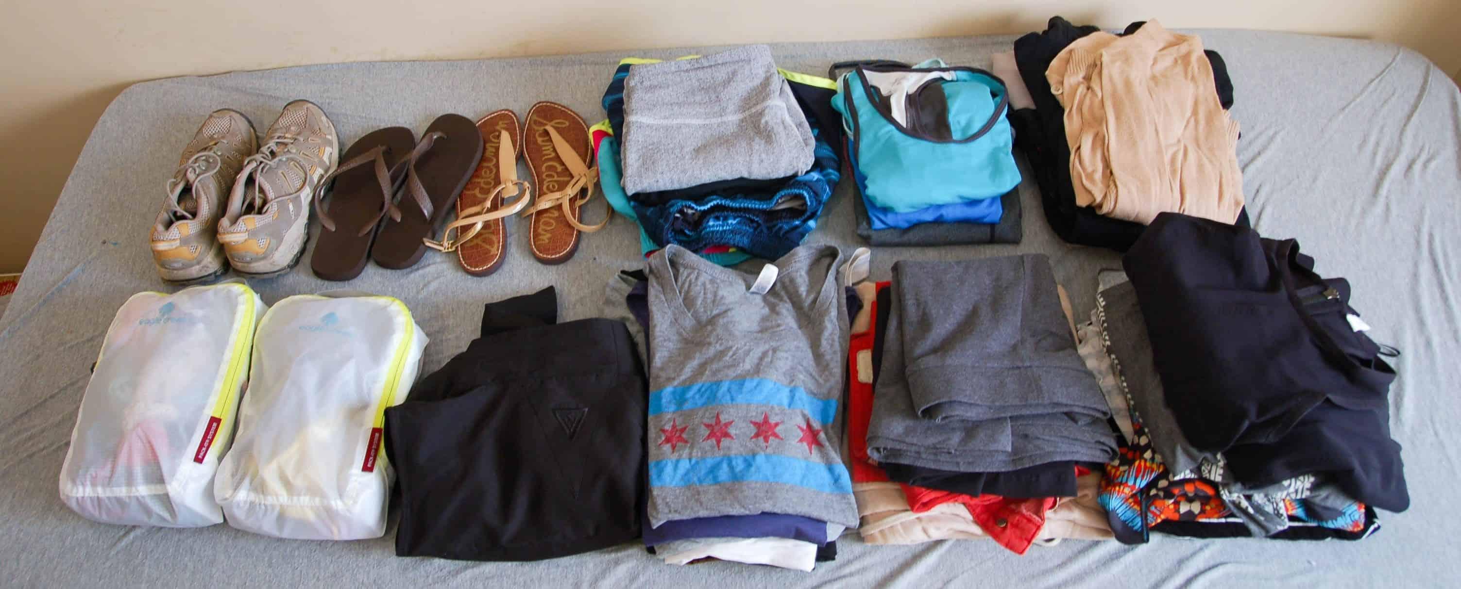 Bawa Pakaian Dan Barang Seperlunya