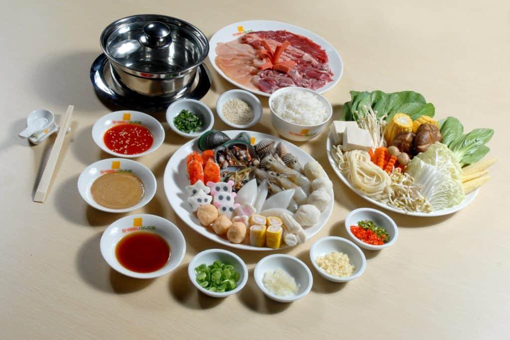 Menu All You Can Eat Shabu AUCE