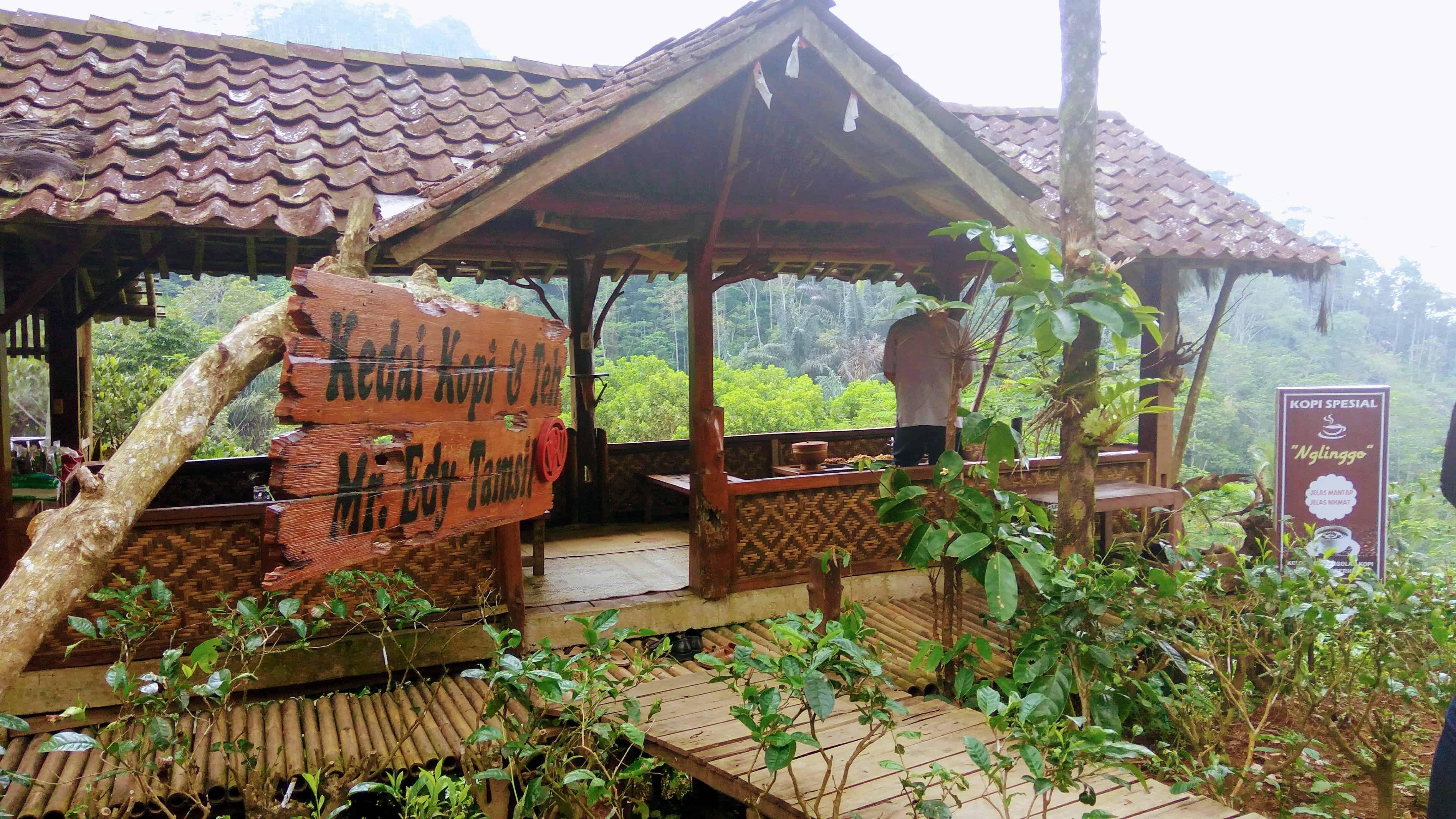 Kebun Teh Nglinggo (Kedai Mr. Edy Tamsil)