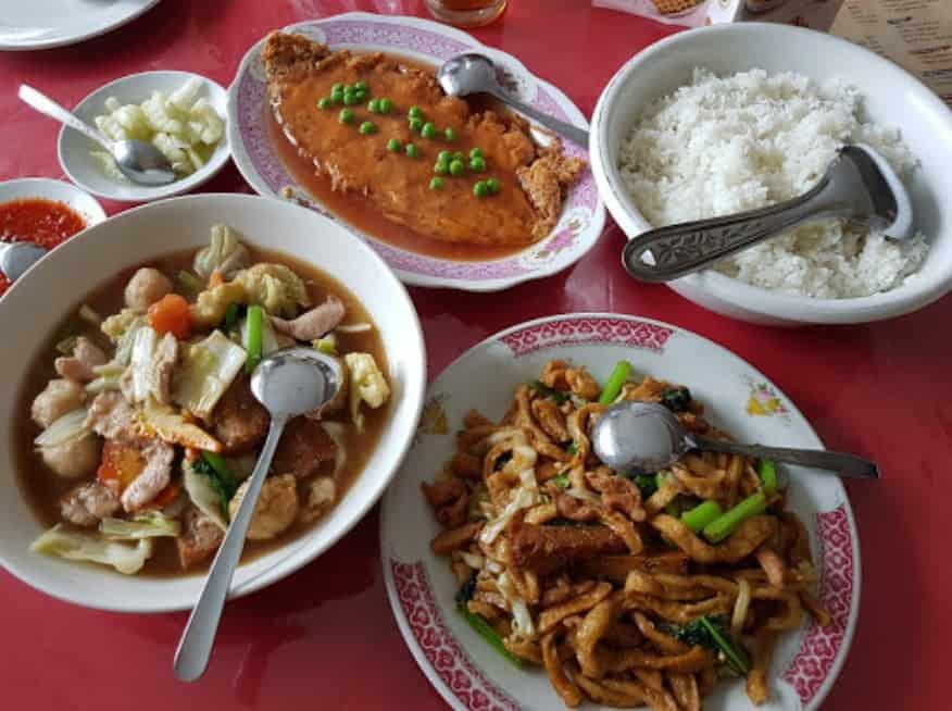 Restaurant Mahkota (dh Tiong San)