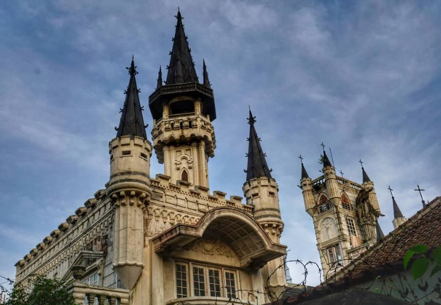Gereja Gothic Sayidan Jogja