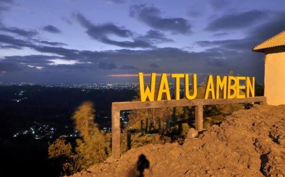 Wisata Resto Watu Amben Jogja, Nongkrong Asyik Ditemani Pemandangan Alam yang Ciamik