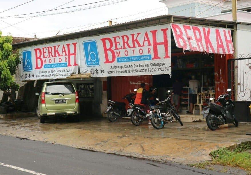 Berkah Motor Yogyakarta