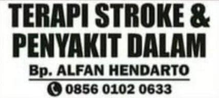 Terapi Stroke & Penyakit Dalam Jogja Bp. Alfan Hendarto