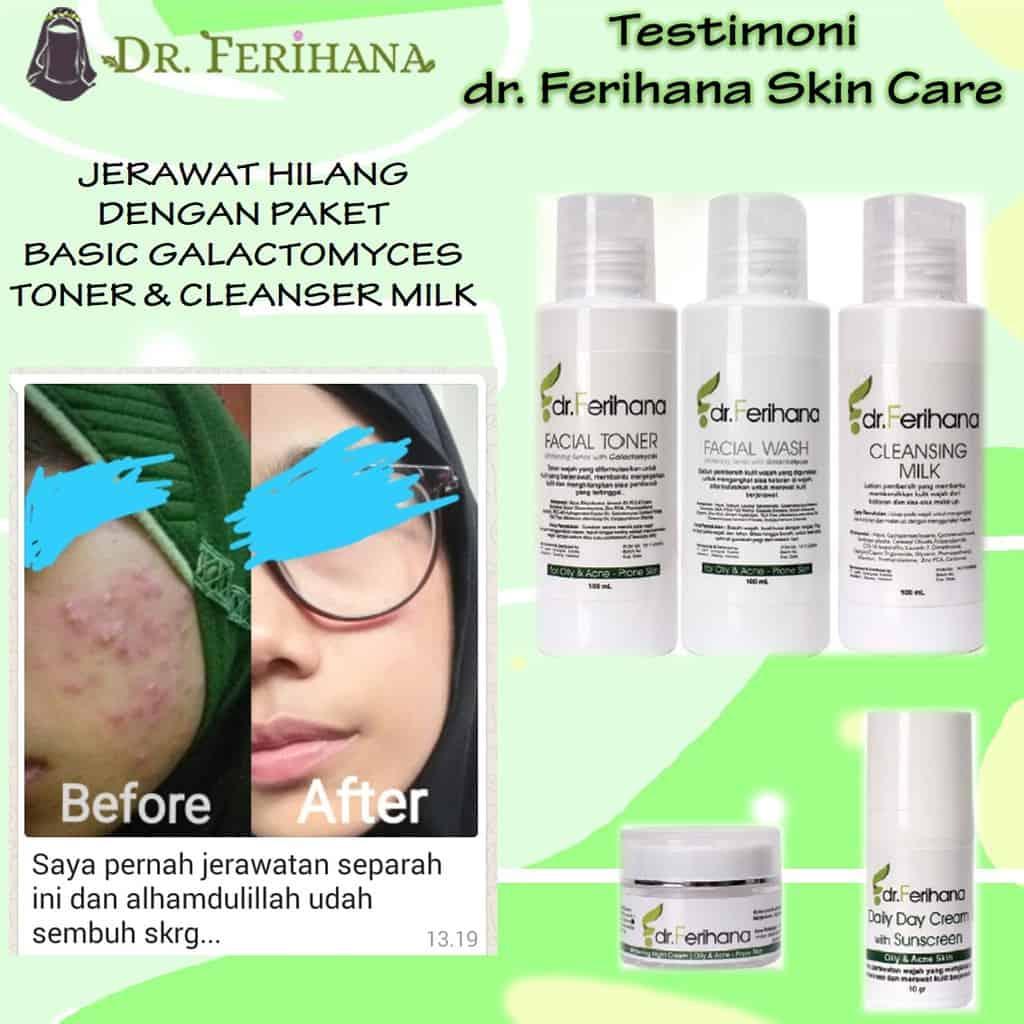 dr ferihana acne series