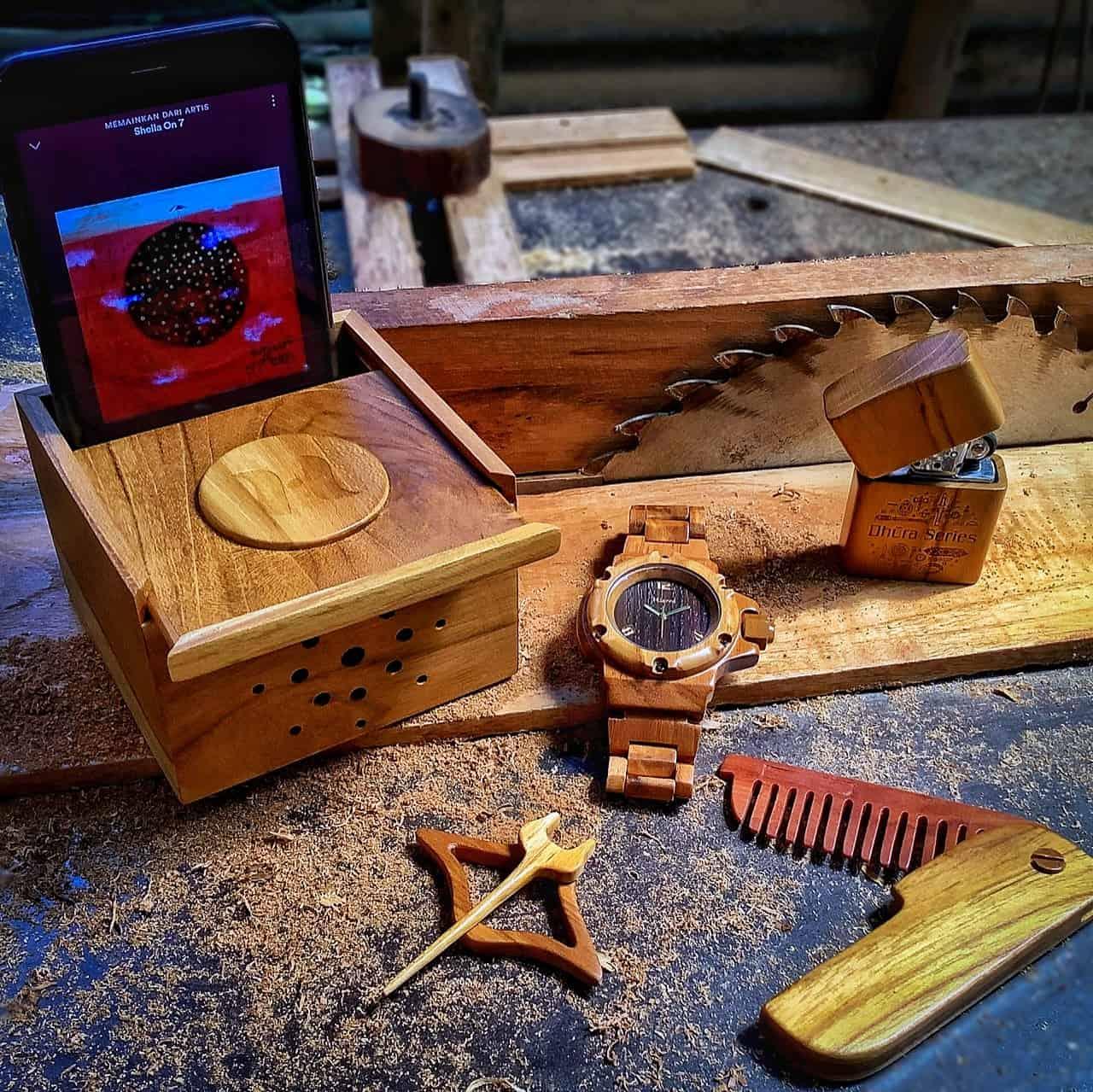 Hierro Watch Jam tangan kayu jogja