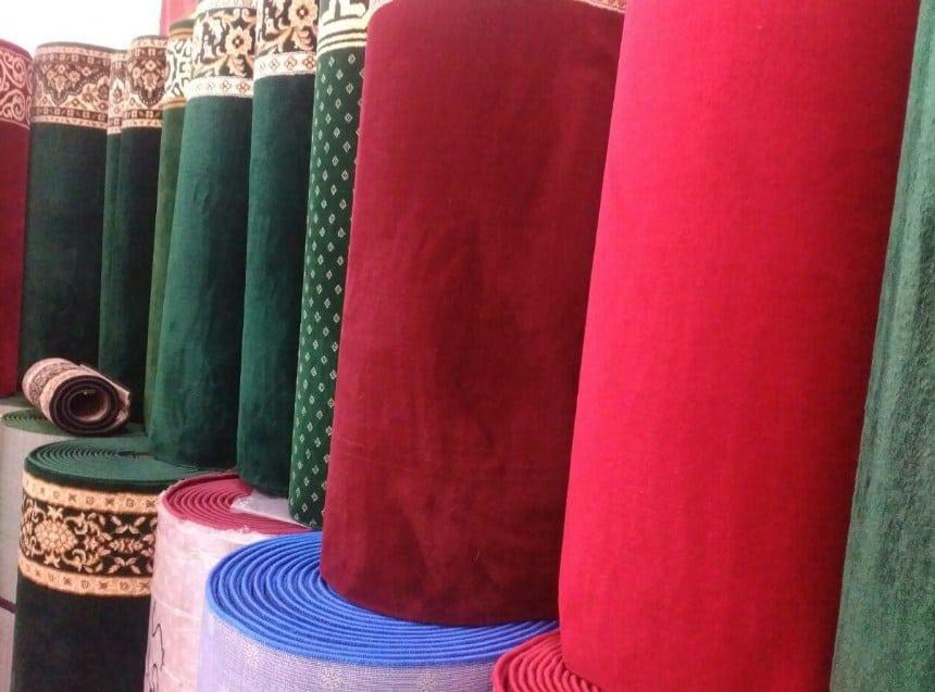 Rekomendasi Toko Karpet Masjid di Jogja