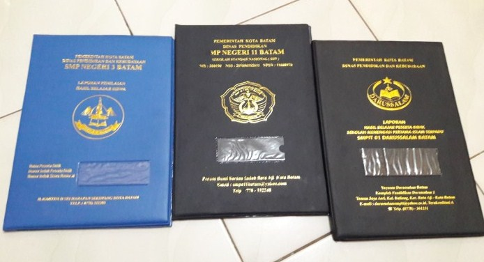 Rekomendasi Jasa Cetak Map Sampul Raport Ijazah dan Dokumen Penting di Jogja